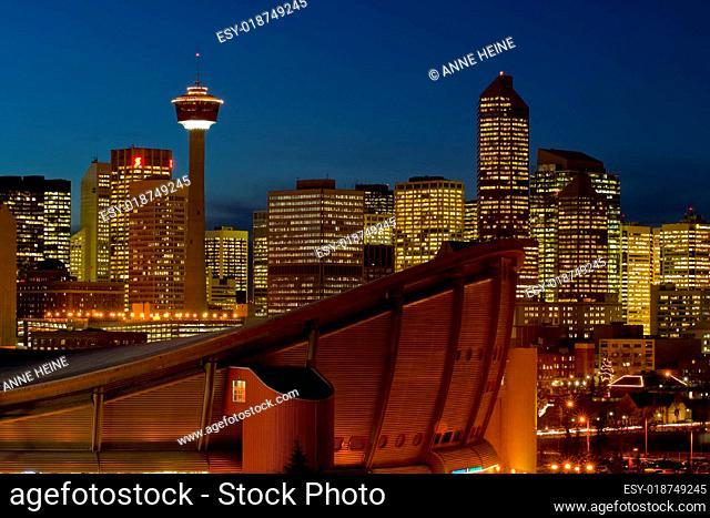 Calgary Fernsehturm und Stampede