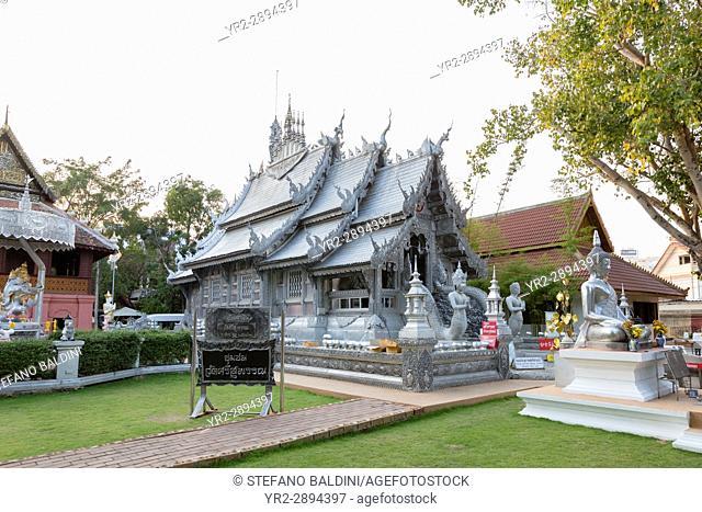 Wat Sri Suphan temple, Chiang Mai, Thailand