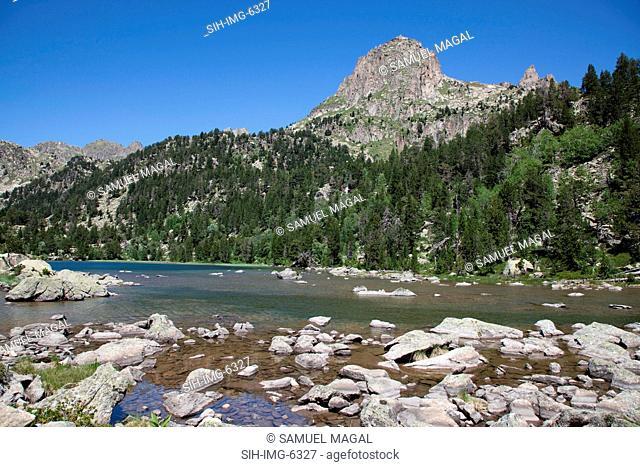 Europe, Spain, Pyrenees Mountains
