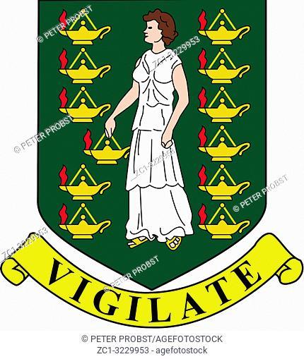 Coat of arms of the British Virgin Islands