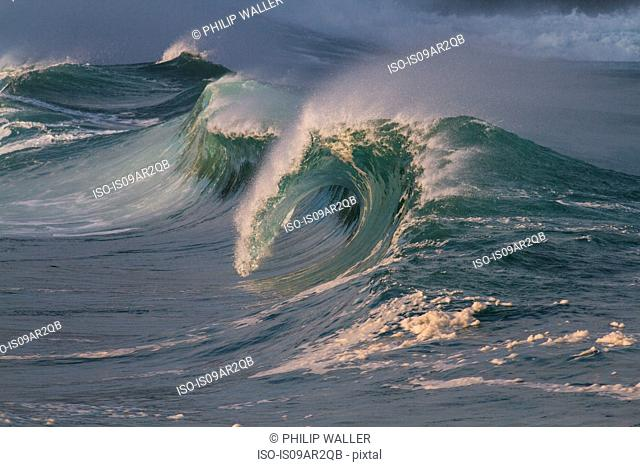 Breaking waves, Hawaii