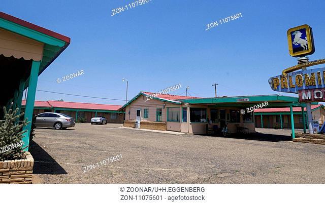 Palomino Motel,Tucumcari,Route 66