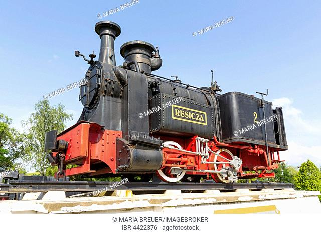 Locomotive, first built in Re?i?a in 1872, Steam Locomotives Museum, Re?i?a, Banat, Romania