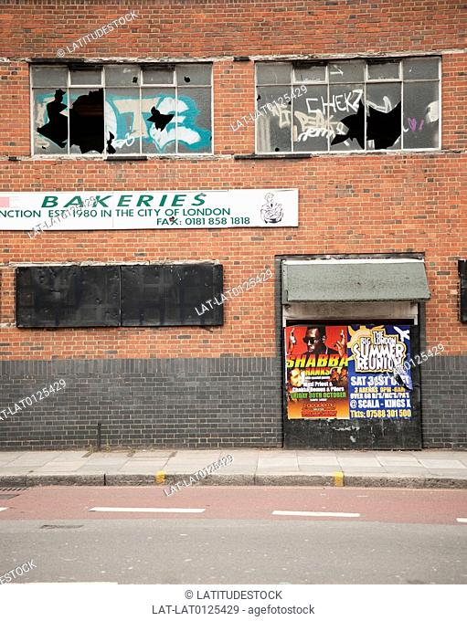Vandalism is a huge problem in London,with many abandoned buildings often targeted by vandals. Greenwich