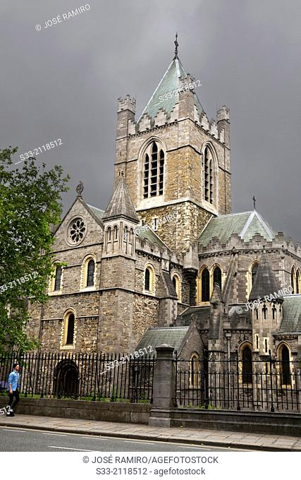 Christ Church Cathedral in Dublin. Ireland
