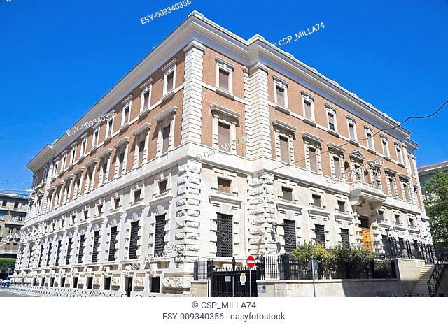 Mejestic palace. Bari. Apulia