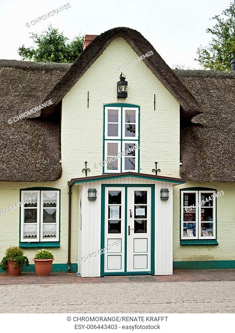 Frisian House with Porch, Schleswig Holstein, Germany