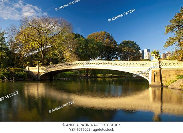 Bow Bridge on The Lake, Central Park