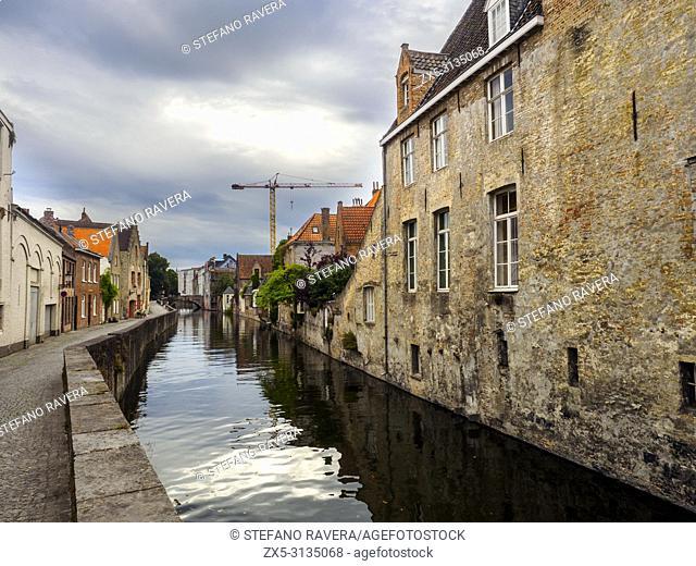 Gouden-Handrei canal - Bruges, Belgium
