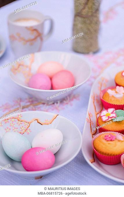 Easter breakfast, Still life Easter