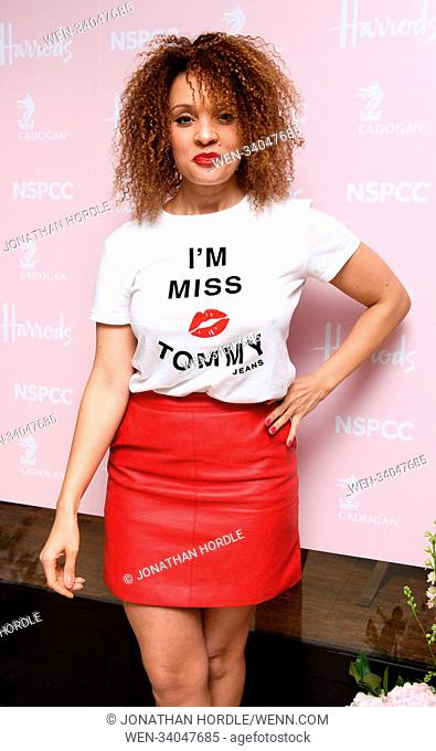 fashion retold pop up store in aid of the Nspcc Featuring: pandora christie Where: London, United Kingdom When: 12 Apr 2018 Credit: Jonathan Hordle/WENN