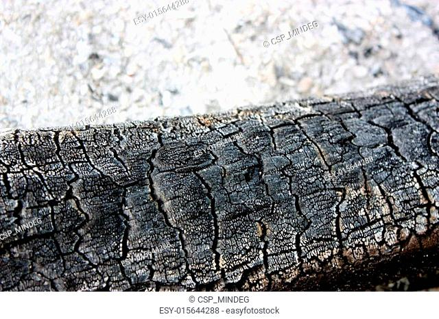 Textured fire remains