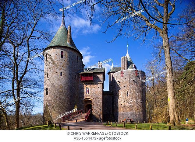 Castle Coch Tongwynlais Cardiff Wales