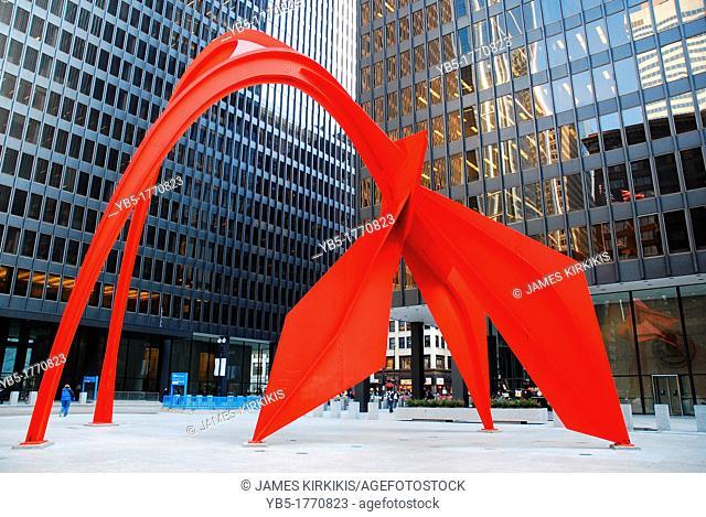 Flamingo by Alexander Calder