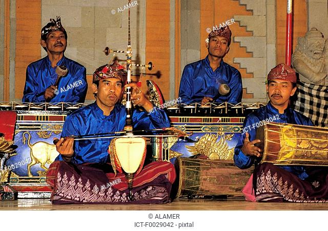 Indonesia, Bali, traditional gamelan