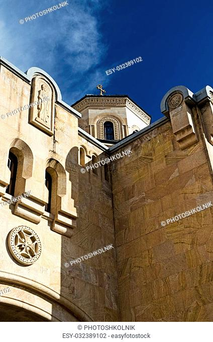 cathedral Sveticxoveli , details of medieval architecture