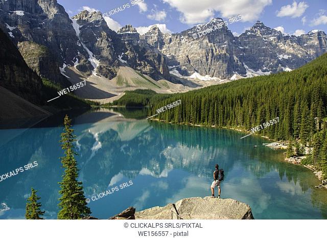Moraine Lake, Banff Park, Canada