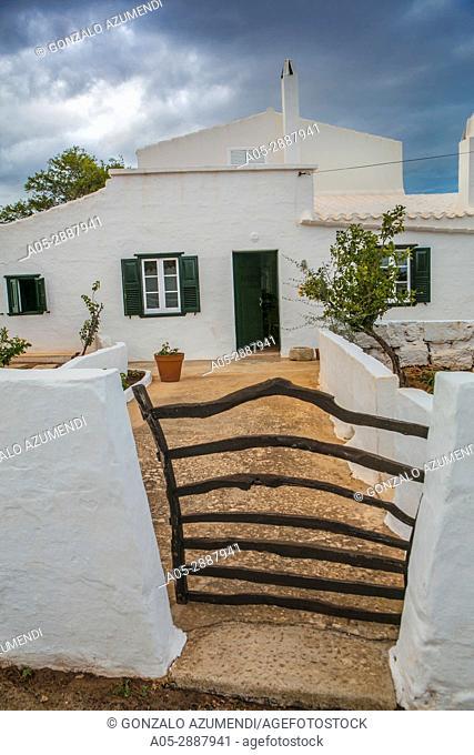 Torret de Baix. Sant Lluis Municipality. Minorca Island. Balearic Islands. Spain