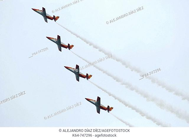 Patrulla Aguila, Spanish Air Force aerobatic demonstration team