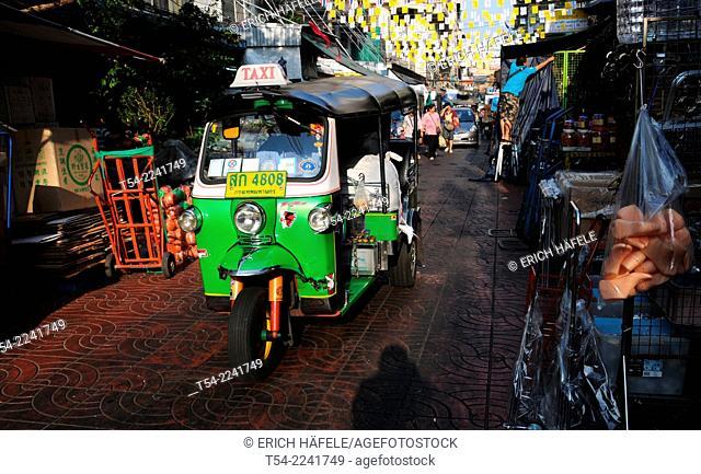 Tuk Tuk in the Khaosan Road in Bangkok