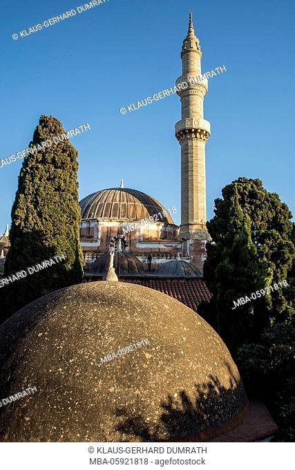Rhodes, the Suleymaniye Mosque