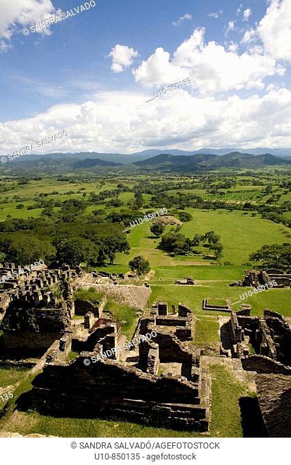 Maya ruins, Tonina. Chiapas, Mexico