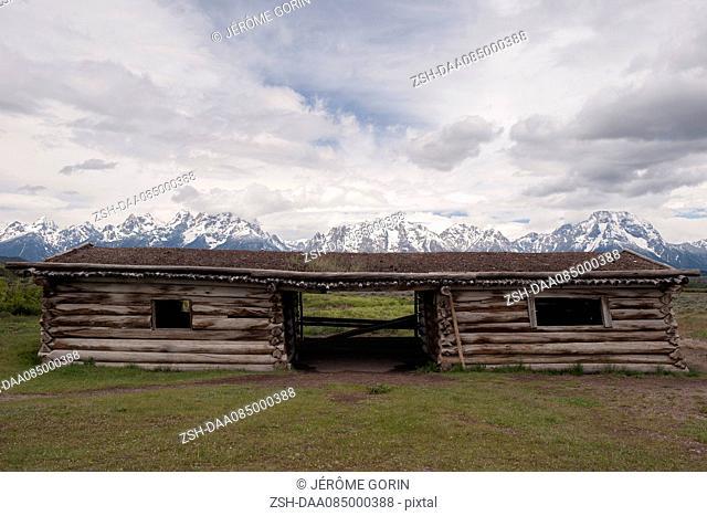 Cunningham Cabin, Grand Teton National Park, Wyoming, USA