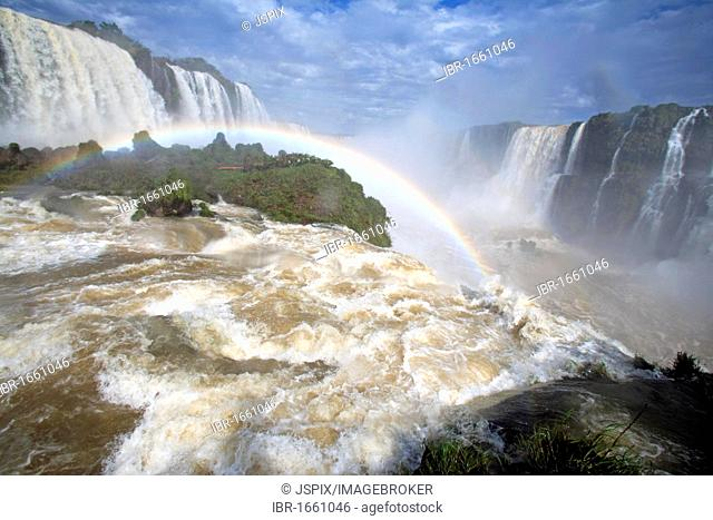 Iguazu Falls, Iguazu National Park, Brazil, South America