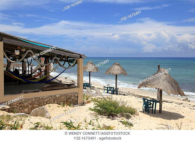 Mezcalitos Bar & Grill, East Coast, Cozumel Island, Isla de Cozumel, Quintana Roo, Mexico, Caribbean