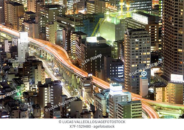 Syuto Kousoku expressway, near Roppongi,Tokyo, Japan, Asia