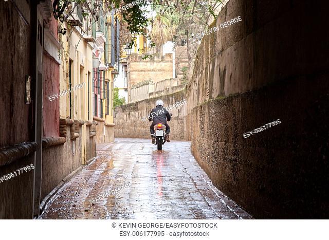Callejon de Aguas Street, Santa Cruz Neighborhood; Seville - Sevilla, Spain