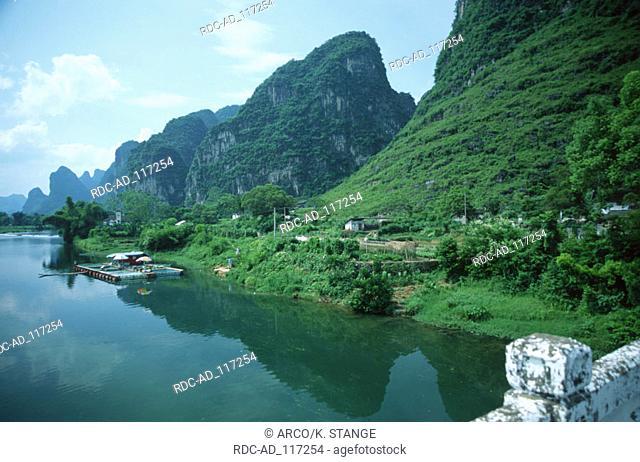 Li River Guilin Guangxi China