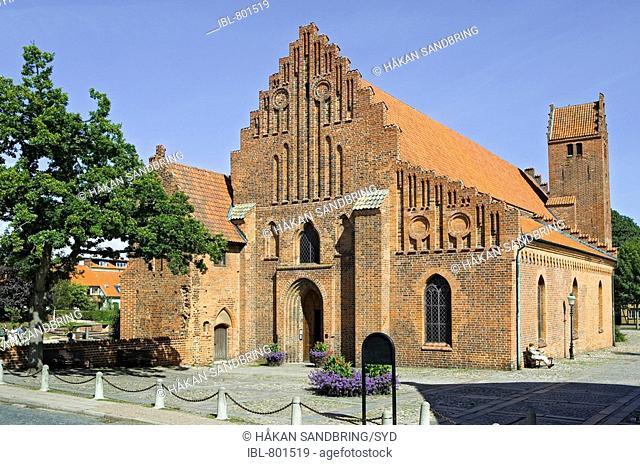 The Franciskaner monastery Franciskanerklostret, Ystad, Skåne, Sweden