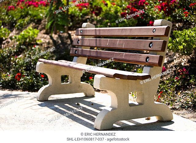 Cedar park bench