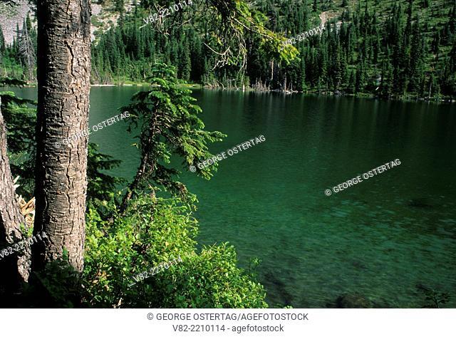 Hunts Lake, Mt Jefferson Wilderness, Willamette National Forest, Oregon