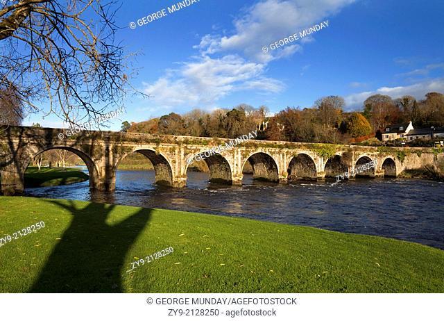 The Bridge over the River Nore, Inistioge,
