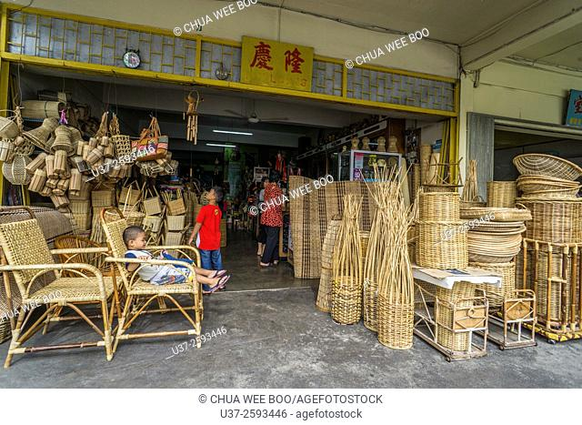 Selling Furniture Rotan Stock Photos And Images Age Fotostock