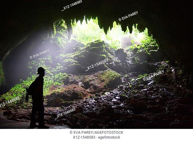 The Camuy caves in Puerto Rico