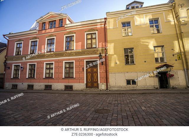 Architecture of Old Town, Tallinn, Estonia, Baltic States
