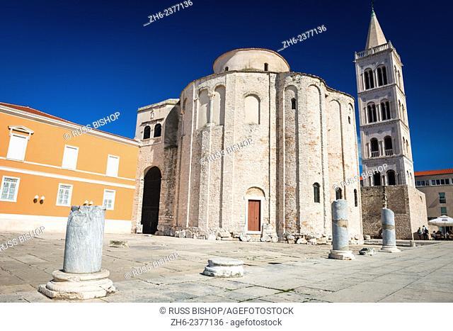 St. Donatus Church and Roman forum, Zadar, Dalmatian Coast, Croatia
