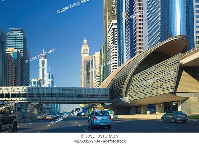 Sheikh Zayed Strasse, Dubai