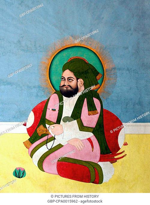 India: Ali ibn Talib, son-in-law of the Prophet Muhammad, fourth Rashidun Calpih (Sunni) and first Imam (Shia). Hyderabad, c. 1800