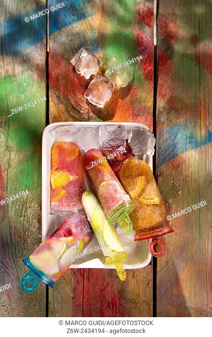 Cool off in summer with a break at the base of icicles citrus