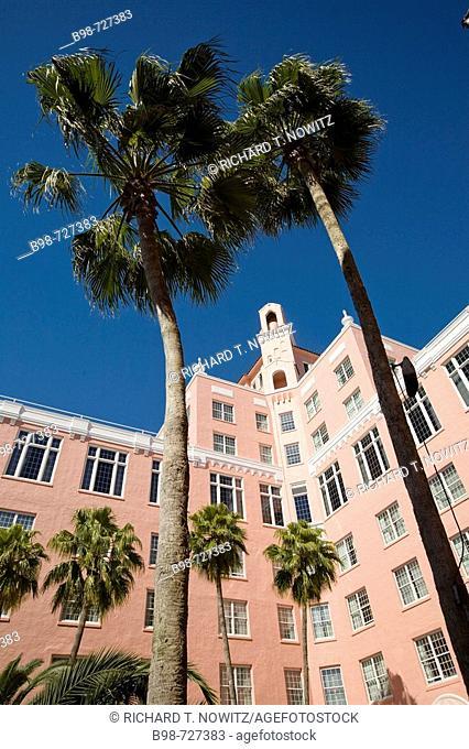 St. Pete Beach, Florida, historic Don CeSar Beach Resort