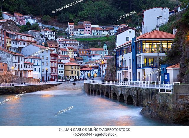 Cudillero. Cantabrian coast. Asturias. Spain