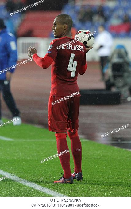 Theodor Gebre Selassie Of Czech Republic Stock Photos And Images