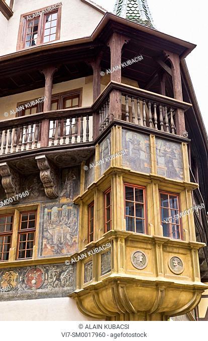 Pfister's House, Colmar, Haut-Rhin, France
