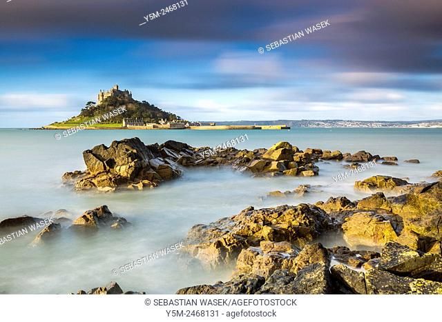 St Michael's Mount, Marazion, Cornwall, England, United Kingdom, Europe