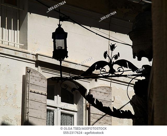 Streetlamp. St.Remy de Provence, Provence, France