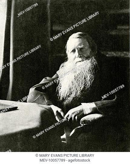 JOHN RUSKIN English art critic and writer in old age